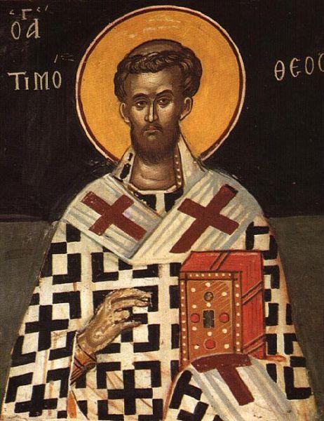 Sfântul Sfinţit Mucenic Timotei, Episcopul Prusiei. Prăznuirea sa de către Biserica Ortodoxă se face la data de 10 iunie - foto: doxologia.ro