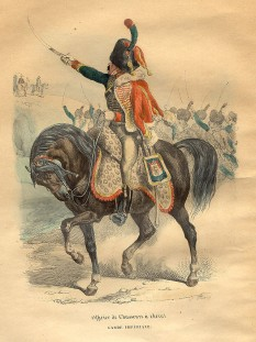 Vânător Călare din Garda Imperială Franceză - foto - ro.wikipedia.org