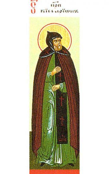 Sfântul Cuvios Visarion. Prăznuirea sa de către Biserica Ortodoxă se face la data de 6 iunie - foto: doxologia.ro