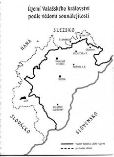Harta Regatului Valah -  foto - cubreacov.wordpress.com