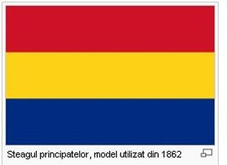 Steagul Principatelor (1862) - foto - stiri.tvr.ro