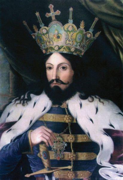 Ștefan al III-lea, supranumit Ștefan cel Mare (n. 1433, Borzești - d. 2 iulie 1504, Suceava), fiul lui Bogdan al II-lea, a fost domnul Moldovei între anii 1457 și 1504. A domnit 47 de ani, durată care nu a mai fost egalată în istoria Moldovei. În timpul său, a dus lupte împotriva mai multor vecini, cum ar fi Imperiul Otoman, Regatul Poloniei și Regatul Ungariei. Biserici și mănăstiri construite în timpul domniei sale sunt astăzi pe lista locurilor din patrimoniul mondial - in imagine, Ştefan cel Mare - de Constantin Lecca - foto: ro.wikipedia.org