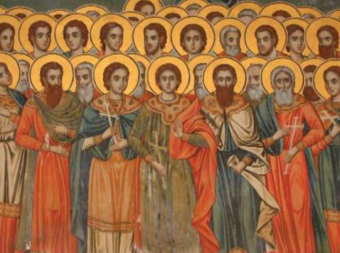 Sfinții 45 de Mucenici din Nicopolea Armeniei. Prăznuirea lor de către Biserica Ortodoxă se face la data de 10 iulie - foto: doxologia.ro