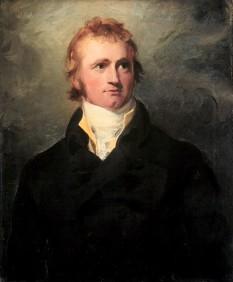 Sir Alexander Mackenzie ( n. 1764,  insula Lewis, Scoția – d. 12 martie 1820, Dunkeld, Scotia) explorator scotian, ajunge la Oceanul Pacific, devenind primul om care a finalizat o traversare  transcontinentala a Canadei de la Oceanul Atlantic la Oceanul Pacific - foto - en.wikipedia.org
