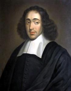 Baruch Spinoza, latinizat: Benedictus de Spinoza (n. 24 noiembrie 1632, Amsterdam - d. 21 februarie 1677, Haga) renumit filosof evreu olandez de origine sefardă cu strămoși de proveniență portugheză (d'Espinosa) - foto - ro.wikipedia.org