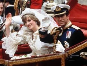 1981 - Charles, Prinţ de Wales se căsătoreşte cu Lady Diana Spencer - foto - istoriculzilei.blogspot.ro