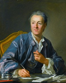 Denis Diderot (n. 5 octombrie 1713, Langres (Champagne-Ardenne); d. 31 iulie 1784, Paris) filosof și scriitor francez - foto - ro.wikipedia.org