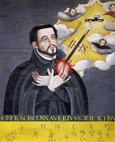 Francis Xavier, SJ, born Francisco de Jasso y Azpilicueta (7 April 1506 – 3 December 1552), was a Basque Roman Catholic missionary born in Xavier, Kingdom of Navarre (now part of Spain), and a co-founder of the Society of Jesus - foto - en.wikipedia.org