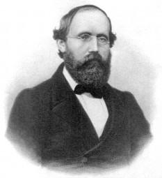 Georg Friedrich Bernhard Riemann(17 septembrie 1826 – 20 iulie, 1866) matematician german cu importante contribuții în analiza matematică și geometria diferențială, unele dintre ele deschizând drumul ulterior spre teoria relativității generalizate - foto - ro.wikipedia.org