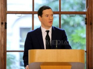 Ministrul britanic de Finanţe George Osborne (Imagine: AP / Mediafax Foto)