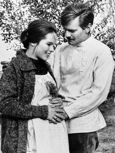 Geraldine Chaplin și Omar Sharif - foto - ro.wikipedia.org