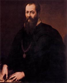 """Giorgio Vasari (* 30 iulie 1511, Arezzo, Italia - † 27 iunie 1574, Florența), pictor, architect și istoric de artă italian, devenit celebru prin lucrarea: """"Viețile celor mai renumiți arhitecți, pictori și sculptori italiani, de la Cimabue până în timpurile noastre"""" - foto - ro.wikipedia.org"""