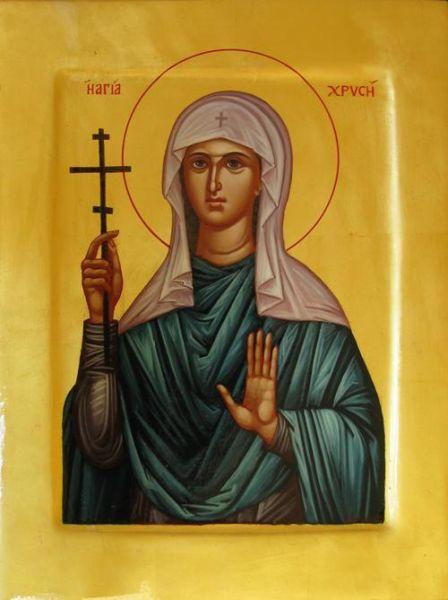 Sfânta Mare Muceniță Hristina. Prăznuirea sa de către Biserica Ortodoxă se face la data de 24 iulie - foto: doxologia.ro