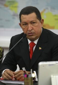 Hugo Chávez (n. 28 iulie 1954 - d. 5 martie 2013) președintele Venezuelei din 2 februarie 1999 până la moartea sa de pe 5 martie 2013 -  foto - ro.wikipedia.org