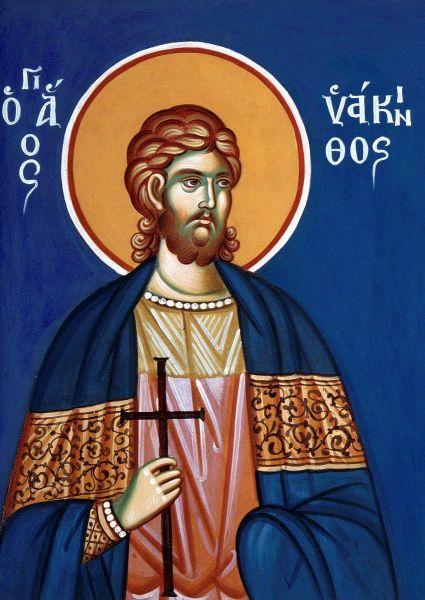 Sfântul Mucenic Iachint. Prăznuirea lor de către Biserica Ortodoxă se face la data de 3 iulie - foto: doxologia.ro
