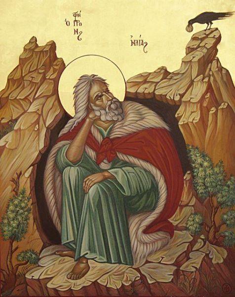 Sfântul și Măritul Prooroc Ilie Tesviteanul este unul dintre cei mai mari profeți trimiși de Dumnezeu. Numele lui se poate traduce prin cel al cărui stăpân este Dumnezeu, sau stăpânul meu este Dumnezeu. Faptele sale sunt descrise în Vechiul Testament, dar se fac multe referiri la el și în Noul Testament. Prăznuirea sa în Biserica Ortodoxă se face pe 20 iulie - foto: doxologia.ro