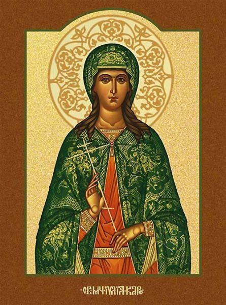 Sfânta Muceniţă Iulia. Prăznuirea sa de către Biserica Ortodoxă se face la data de 16 iulie - foto: doxologia.ro