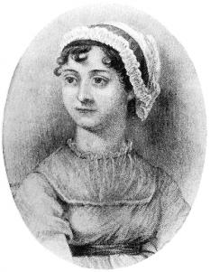 Jane Austen (n. 16 decembrie 1775, Steventon, Hampshire, Anglia, d. 18 iulie 1817, Winchester, Hampshire, Anglia) romancieră engleză realistă din perioada romantică pre-victoriană - foto: ro.wikipedia.org