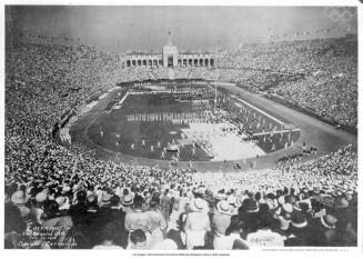Ceremonia de deschidere a Jocurilor Olimpice de vară de la Los Angeles - 1932 - foto - cersipamantromanesc.wordpress.com