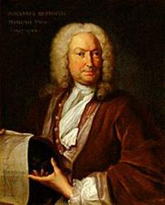 Johann Bernoulli (n. 27 iulie 1667 – d. 1 ianuarie 1748), cunoscut și ca Jean ori John, unul din proeminenții matematicieni elvețieni din familia Bernoulli - foto - ro.wikipedia.org