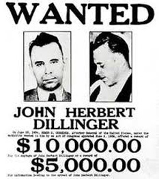 John Dillinger - foto - cersipamantromanesc.wordpress.com
