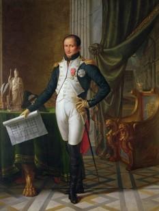Joseph-Napoléon Bonaparte, rege al Neapolelui și Siciliei, rege al Spaniei și al Indiilor, conte de Survilliers (n. Corte, Franța, 7 ianuarie 1768 - d. Florența, Italia, 28 iulie 1844) a fost fratele mai mare al împăratului francez Napoleon I, care l-a numit rege al Neapolelui și Siciliei (1806-1808) și mai târziu rege al Spaniei - foto - ro.wikipedia.org