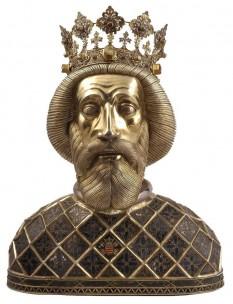 Ladislau I, cunoscut și ca Ladislau cel Sfânt, (n. 27 iunie 1040, Cracovia - 29 iulie 1095, Nitra) rege al Ungariei din 1077 până la moarte, în 1095. A fost canonizat de Biserica Catolică în timpul domniei lui Béla al III-lea, în 1192 - foto - ro.wikipedia.org