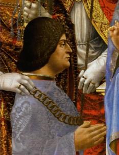 Ludovic Maria Sforza (de asemenea cunoscut sub numele de Ludovico il Moro;[1] 27 iulie 1452 – 27 mai 1508), Duce al Milano din 1489 până în 1500 - foto - ro.wikipedia.org