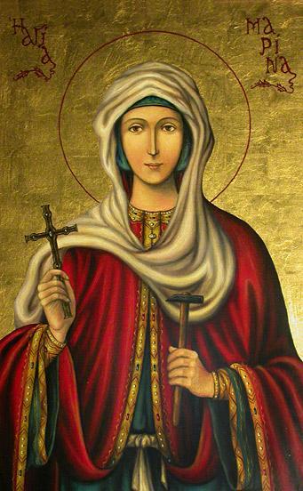 Sfânta Mare Muceniță Marina. Prăznuirea sa de către Biserica Ortodoxă se face la data de 17 iulie - foto: doxologia.ro