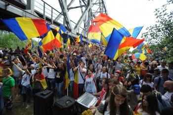 Marșul lui Ștefan cel Mare - foto - facebook.com/basarabiapamantromanesc