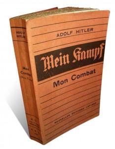 1925: Adolf Hitler a publicat manifestul său personal, intitulat Mein Kampf - foto - ro.wikipedia.org