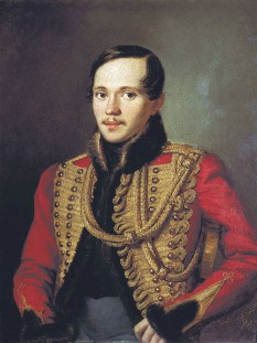 Mihail Iurievici Lermontov (n. 15 octombrie [S.V. 3 octombrie] – 1814 d. 27 iulie [S.V. 15 iulie] 1841)  scriitor romantic rus - foto (Mihail Lermontov în 1837): ro.wikipedia.org