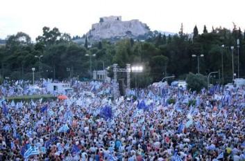 Mitinguri în Grecia - foto - evz.ro