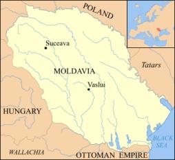Moldova în timpul lui Ștefan cel Mare - foto - ro.wikipedia.org