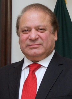 Mian Muhammad Nawaz Sharif (born 25 December 1949) fost premier al Pakistanului - foto - en.wikipedia.org
