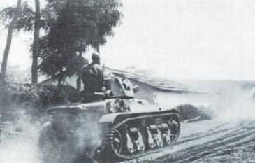 Operatiunea München - Tanc R-35 din Regimentul 2 Care de Lupta - foto - worldwar2.ro