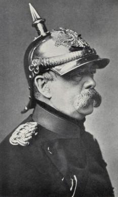 Otto Eduard Leopold von Bismarck - Graf von Bismarck (conte), apoi Fürst von Bismarck-Schönhausen (principe) - (n. 1 aprilie 1815, d. 30 iulie 1898), om de stat al Prusiei/Germaniei de la sfârșitul secolului al XIX-lea, precum și o figură dominantă în afacerile mondiale - foto: ro.wikipedia.org