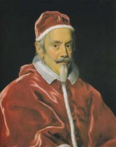 Papa Clement al X-lea (Emilio Altieri) (n. 13 iulie 1590 Roma – d. 22 iulie 1676 Roma) a deținut funcția de papă între anii 1670-1676 - foto - ro.wikipedia.org