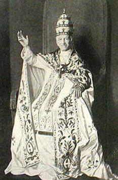 Papa Leon al XIII-lea, născut Gioacchino Pecci (n. 2 martie 1810, Carpineto Romano, Italia – d. 20 iulie 1903, Vatican) Papă din 20 februarie 1878 până la moartea sa - foto - ro.wikipedia.org