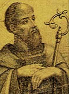 Petru Crisologul (n. 406, Imola; d. 2 decembrie 450) episcop al arhidiocezei de Ravenna și este venerat ca sfânt în Biserica Catolică - foto - ro.wikipedia.org