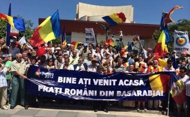 Piaţa Universităţii, manifestaţie unionistă (facebook.com/Antonie Popescu)
