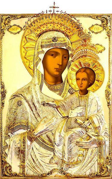 Sfânta Icoană Prodromița de la Muntele Athos. Prăznuirea sa de către Biserica Ortodoxă se face la data de 12 iulie - foto preluat de pe doxologia.ro