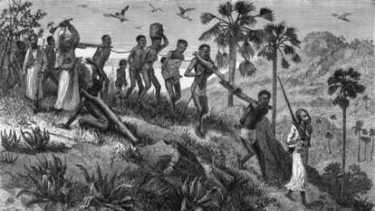 Sclavi africani: foto - cultural.bzi.ro