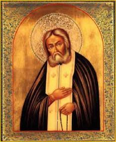 Sfântul Serafim Sarovski sau Serafim din Sarov, (n. Prohor Moșnin la 19 iulie 1759, d. 2 ianuarie 1833 este unul din cei mai cunoscuți monahi și mistici ai Bisericii Ortodoxe Ruse. Pomenirea sa de catre Biserica Ortodoxa se face la 2 ianuarie - foto: calendar-ortodox.ro