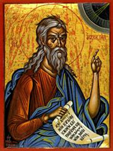 Sf. Proroc Iezechiel -  foto - calendar-ortodox.ro