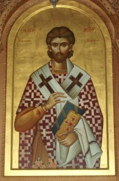 Sf. Sfintit Mc. Astie, episcopul Dirahiei - foto - doxologia.ro