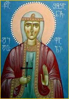 Sfantul Mucenic Eustatie din Mtskheta in Georgia - foto - calendar-ortodox.ro