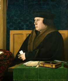 Thomas Cromwell, Earl of Essex, KG (/ˈkrɒmwəl/ or /ˈkrɒmwɛl/;[1] c. 1485 – 28 July 1540), was an English lawyer and statesman who served as chief minister to King Henry VIII of England from 1532 to 1540 - foto - en.wikipedia.org