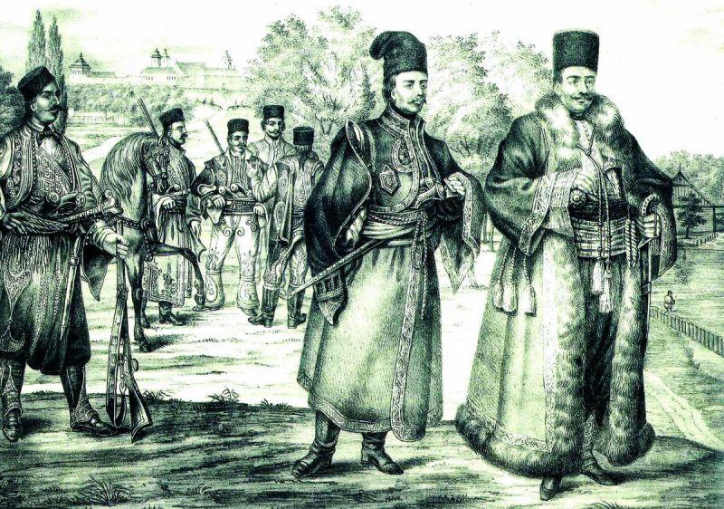 Tudor Vladimirescu si pandurii sai la Bucuresti (1821) - foto: historia.ro
