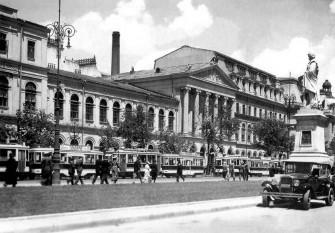 Clădirea veche a Universităţii din Bucureşti, creaţie a lui Alexandru Orăscu - foto - ro.wikipedia.org